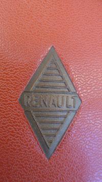 REGIE NATIONALE DES USINES RENAULT . GUIDE DES RUE DE PARIS DE 1956. INFOS DIVERSES RAJOUTEES AVEC TAMPON .