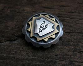 Silver-Brass-Silver Coin