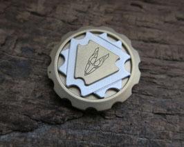 Brass-Silver-Brass  Coin