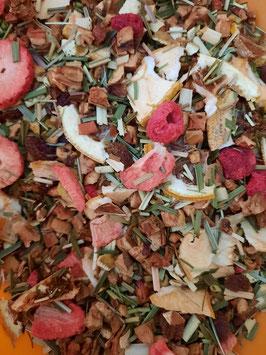 Préparation pour thé glacé pamplemousse- citron 80g