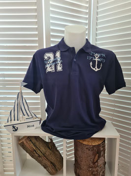 Polo-Shirt Men Navyblau