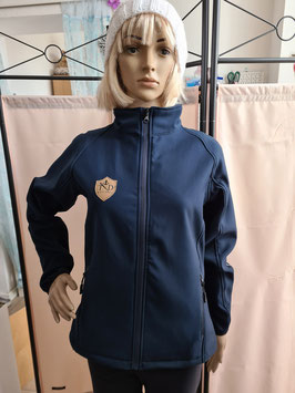 Damen Softshelljacke Navy Blau