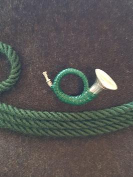 Jgd.Horn grün SILBER 7102 029