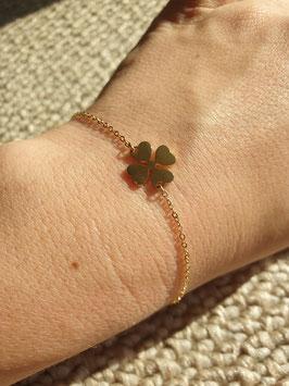 Bracelet Trèfle Doré