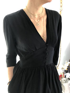 Robe Courte Rosy Noir