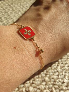 Bracelet Alexandra Rouge