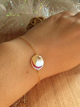 Bracelet Luna Rouge Noël