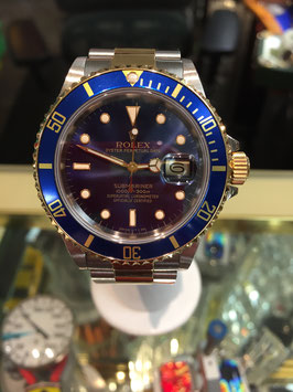 ROLEX SUBMARINER STAINLESS/18K GOLD