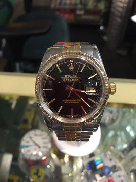 ROLEX MANS DATEJUST STAINLESS/18K GOLD