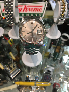 ROLEX STAINLESS GRAY DIAL