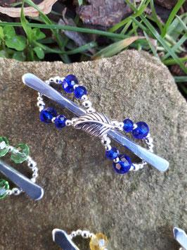 Minispange Königsblau