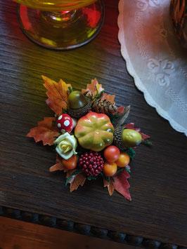 ProduktnHaarblüte Herbst mit Eicheln und Früchtename
