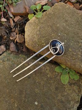 3 zinkige Forke mit Blaufluss
