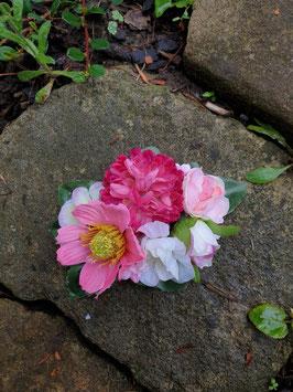 Sommerblüten Haarclip