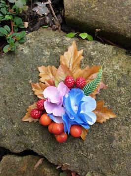 Beeren und Hortensien Blütenclip