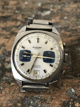Montre chronographe vintage Aurore