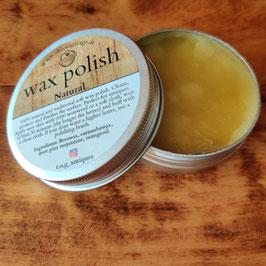 Wax Polish - Natural 60ml