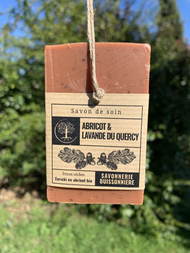 Savon Abricot & Lavande du Quercy