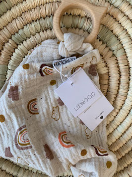Liewood Teether Cuddle Cloth Rainbow (H2)