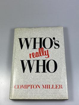 """Who's really who?"" von Compton Miller (Seltene Hardcover-Ausgabe)"