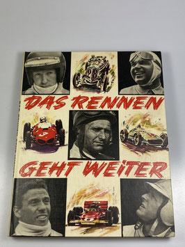 Das Rennen geht weiter (seltenes Exemplar aus den 60er Jahren)