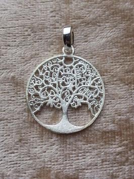 Anhänger 'Baum des Lebens' aus 925 Silber AHS 011