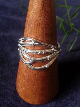 Ring 'Freeform' aus 925 Sterling Silber,  R 020