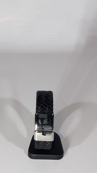 Edelstahl /echt Leder Armband