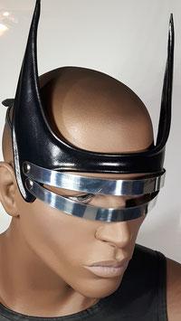 """Leder Maske """"Spider"""""""