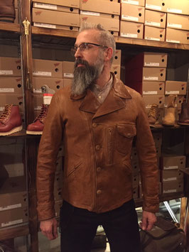 THEDI LEATHERS - Buffalo Leather Jacket
