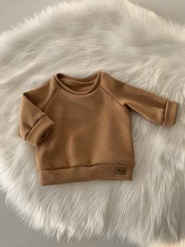 Waffelsweater caramell