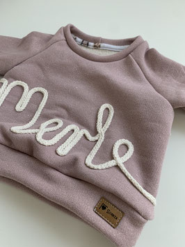Namenssweater Glitzer