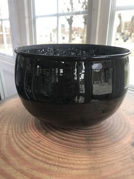 Bell Arte - Windlicht | Schwarz Kristall