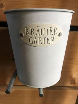 Blumentopf Kräuter Garten