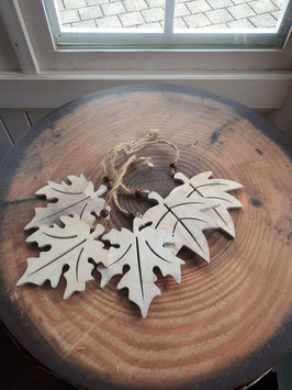 Holzblätter