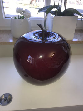 Pottery Pots - Apple Dark Red | glossy