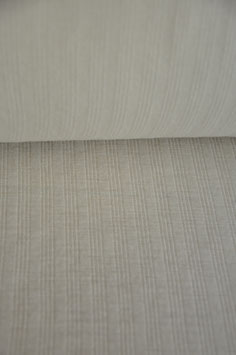 0,5 m - Noble wool jersey - white ribbed