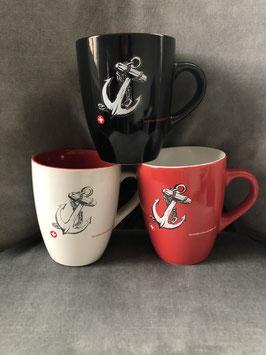 Kaffeebecher mit Anker-Symbol