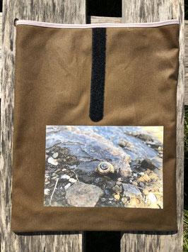Schneckenhaus vom Val Lumnezia | Dry Oilskin Braun