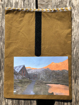 Alp Scaletta auf Gereina-Hochebende | Oilskin Senf