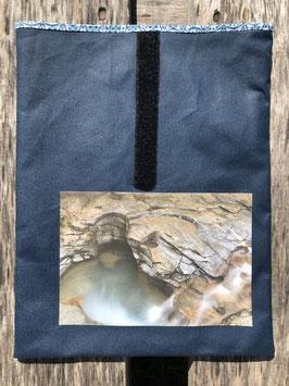 Gletschermühlen Cavaglia Poschiavio | Oilskin Jeansblau