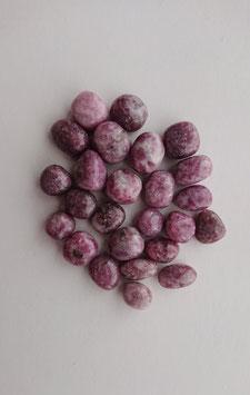 Lépidolite petite pierre roulée
