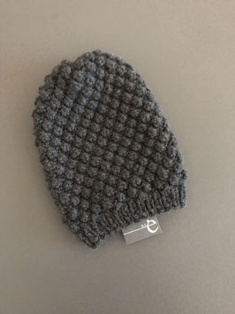 Mütze BARBLA lang dunkelgrau