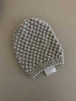Mütze BARBLA lang hellgrau