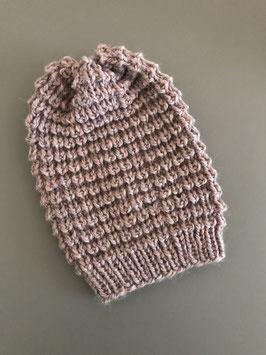 Mütze NEVIA lang rosé