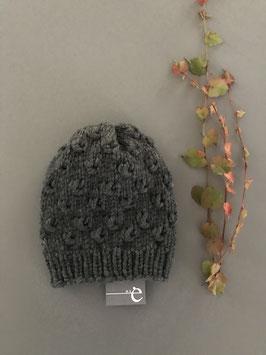 Mütze KNOTS dunkelgrau