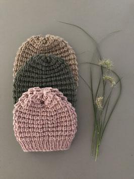 Mütze NEVIA kurz rosé