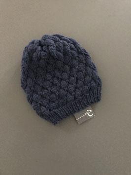 Mütze Stina lang blau
