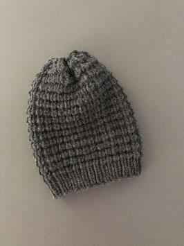Mütze NEVIA lang dunkelgrau