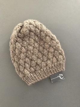 Mütze Stina lang beige
